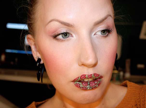 Παράξενα και δημιουργικά σχέδια σε χείλη (12)