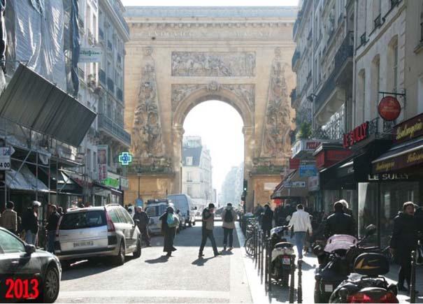 Το Παρίσι 100 χρόνια πριν και σήμερα (1)