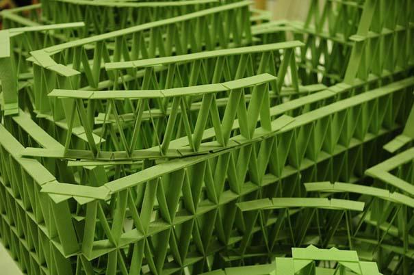 Περίτεχνες 3D κατασκευές από τσίχλες (4)