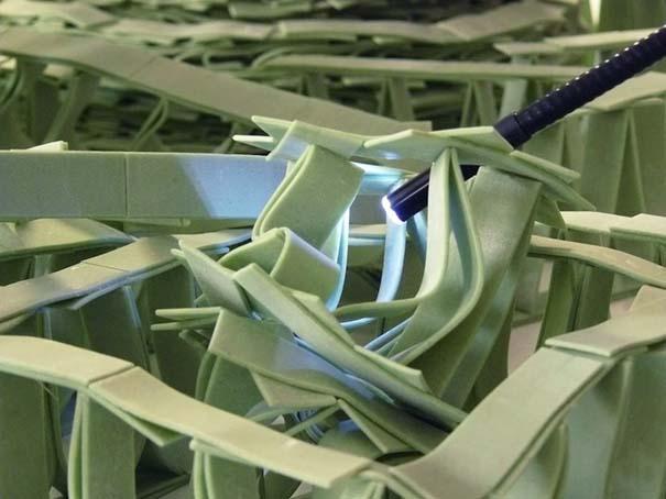 Περίτεχνες 3D κατασκευές από τσίχλες (5)