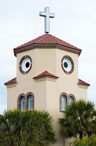 Η εκκλησία... κοτόπουλο | Φωτογραφία της ημέρας