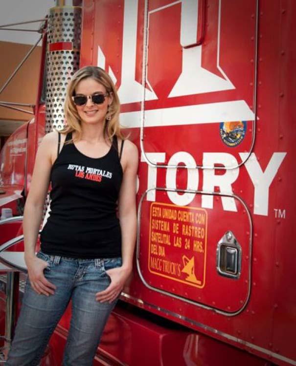 Η πιο όμορφη οδηγός φορτηγού στον κόσμο (11)
