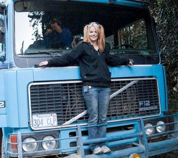 Η πιο όμορφη οδηγός φορτηγού στον κόσμο (19)