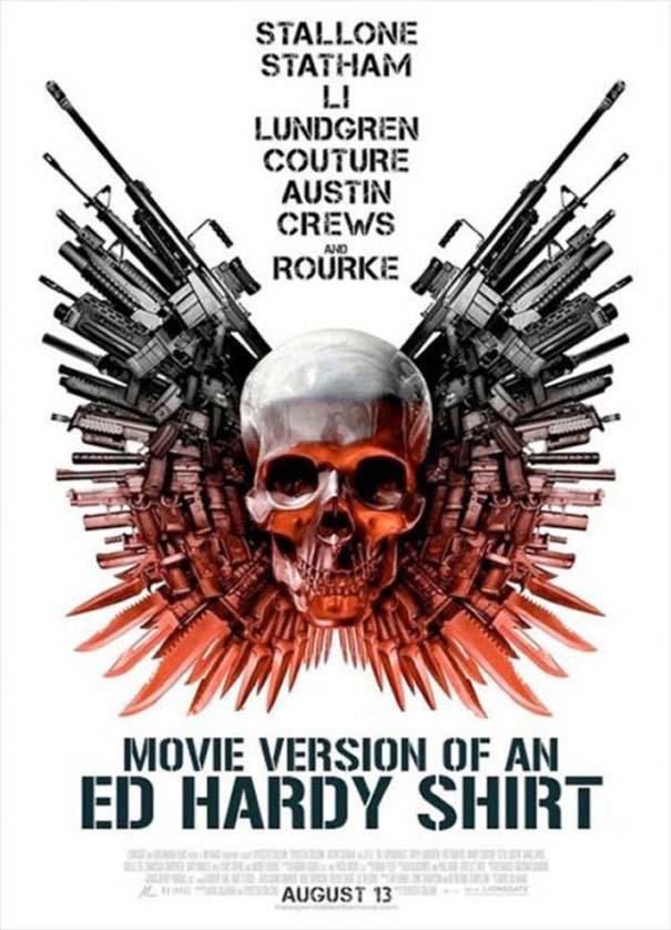 Posters ταινιών όπως θα έπρεπε να είναι (20)