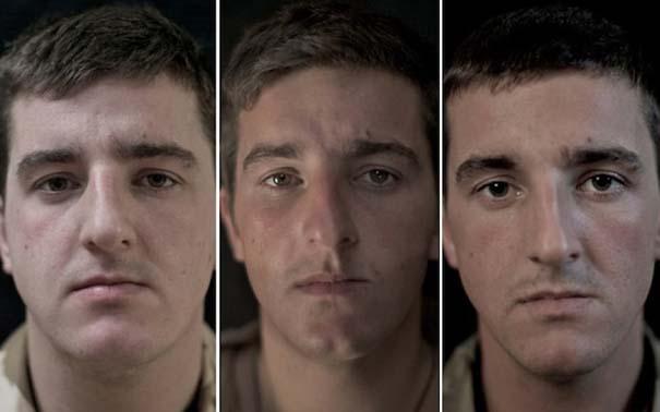 Πρόσωπα στρατιωτών πριν, κατά τη διάρκεια και μετά τον πόλεμο (3)