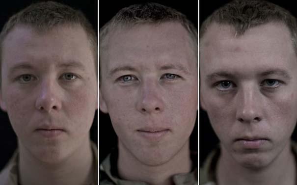 Πρόσωπα στρατιωτών πριν, κατά τη διάρκεια και μετά τον πόλεμο (5)