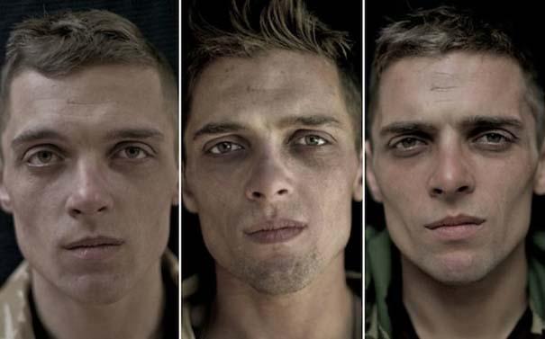 Πρόσωπα στρατιωτών πριν, κατά τη διάρκεια και μετά τον πόλεμο (6)