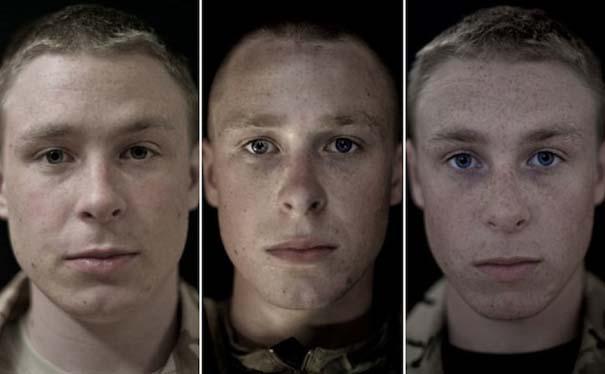 Πρόσωπα στρατιωτών πριν, κατά τη διάρκεια και μετά τον πόλεμο (7)