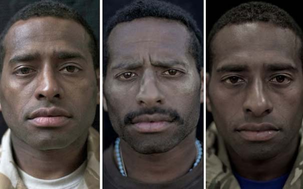 Πρόσωπα στρατιωτών πριν, κατά τη διάρκεια και μετά τον πόλεμο (8)