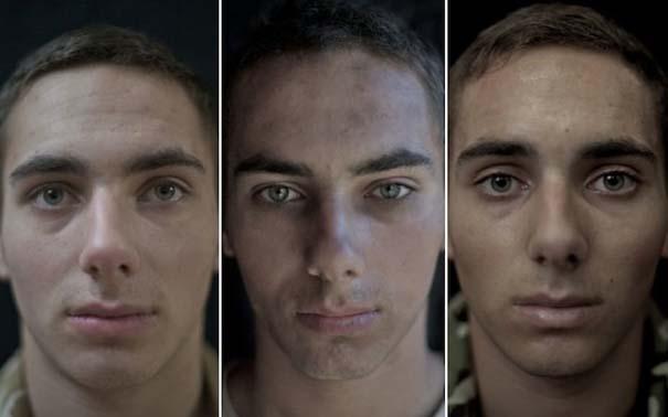 Πρόσωπα στρατιωτών πριν, κατά τη διάρκεια και μετά τον πόλεμο (9)