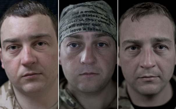 Πρόσωπα στρατιωτών πριν, κατά τη διάρκεια και μετά τον πόλεμο (11)