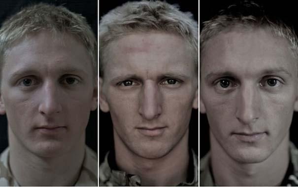 Πρόσωπα στρατιωτών πριν, κατά τη διάρκεια και μετά τον πόλεμο (12)