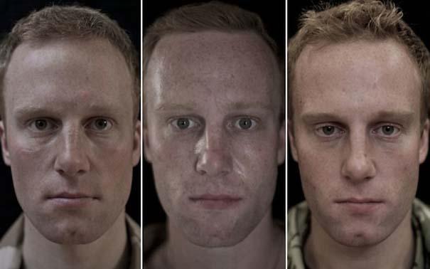 Πρόσωπα στρατιωτών πριν, κατά τη διάρκεια και μετά τον πόλεμο (13)