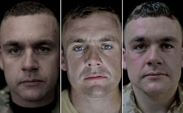 Πρόσωπα στρατιωτών πριν, κατά τη διάρκεια και μετά τον πόλεμο (14)
