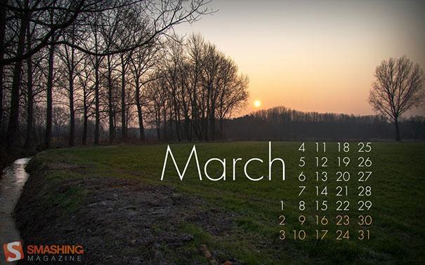 Wallpapers ημερολόγια Μαρτίου 2013 (2)
