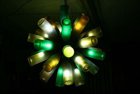 10 μοναδικοί τρόποι διακόσμησης με γυάλινα μπουκάλια (3)