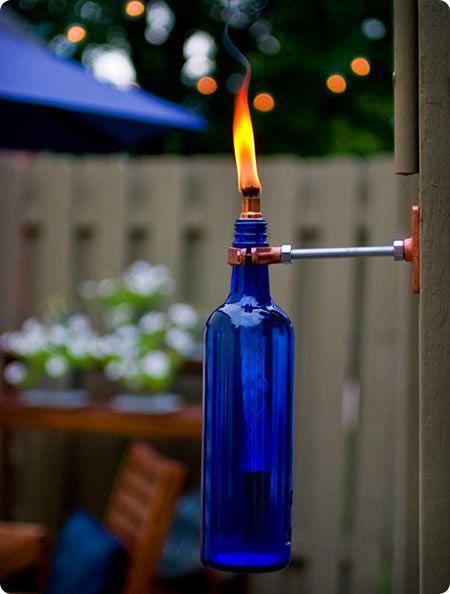 10 μοναδικοί τρόποι διακόσμησης με γυάλινα μπουκάλια (7)