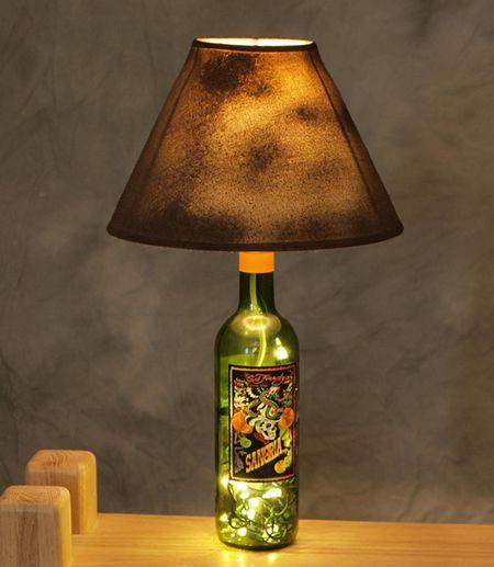 10 μοναδικοί τρόποι διακόσμησης με γυάλινα μπουκάλια (8)