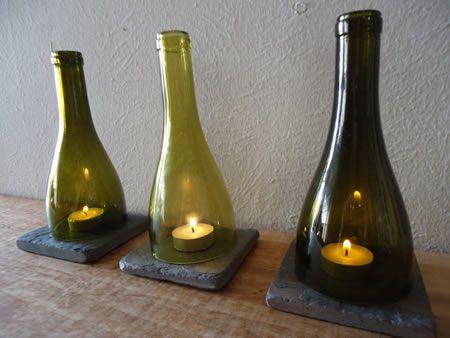 10 μοναδικοί τρόποι διακόσμησης με γυάλινα μπουκάλια (10)