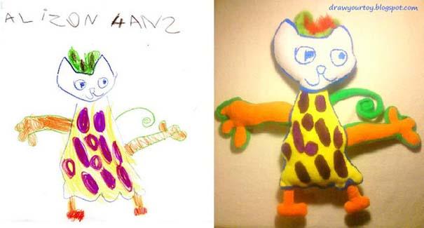 Αν οι παιδικές ζωγραφιές μετατρέπονταν σε παιχνίδια (4)