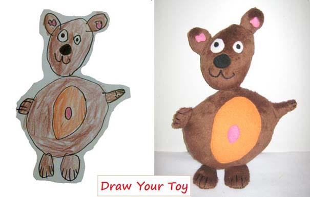 Αν οι παιδικές ζωγραφιές μετατρέπονταν σε παιχνίδια (9)