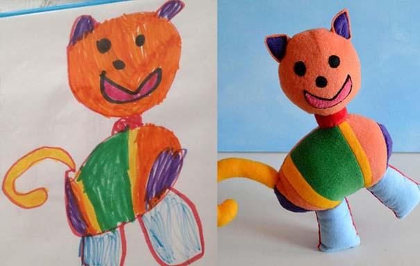 Αν οι παιδικές ζωγραφιές μετατρέπονταν σε παιχνίδια (20)