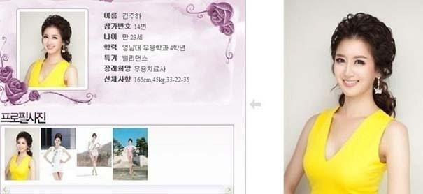 Τι κοινό έχουν οι διαγωνιζόμενες στα καλλιστεία της Νότιας Κορέας; (5)