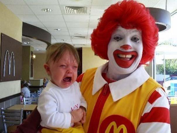 Η διάσημη μασκότ των McDonald's στην πρώτη της μορφή (1)