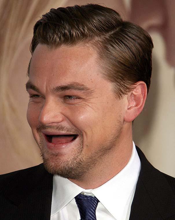 Πως θα ήταν οι διάσημοι άνδρες του Hollywood χωρίς δόντια (2)