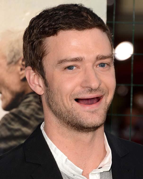 Πως θα ήταν οι διάσημοι άνδρες του Hollywood χωρίς δόντια (12)