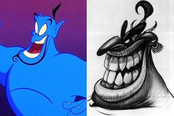 Διάσημοι χαρακτήρες ταινιών στην αρχική τους μορφή (5)
