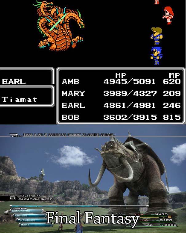 Δημοφιλή video games τότε και τώρα (3)