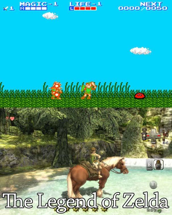 Δημοφιλή video games τότε και τώρα (15)