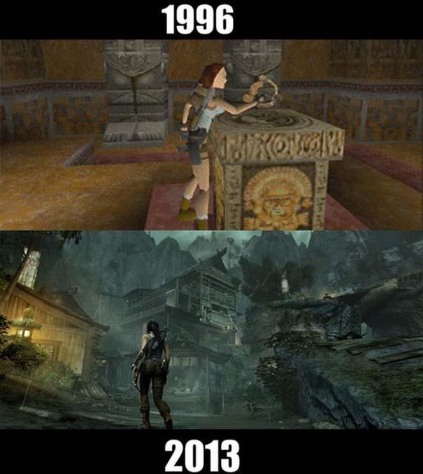 Δημοφιλή video games τότε και τώρα (2)