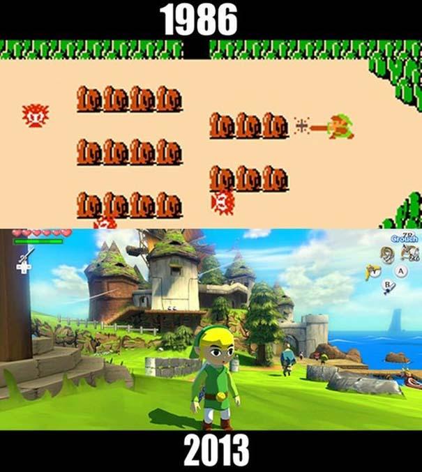 Δημοφιλή video games τότε και τώρα (4)