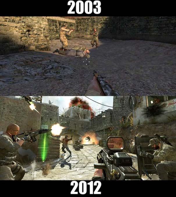 Δημοφιλή video games τότε και τώρα (6)