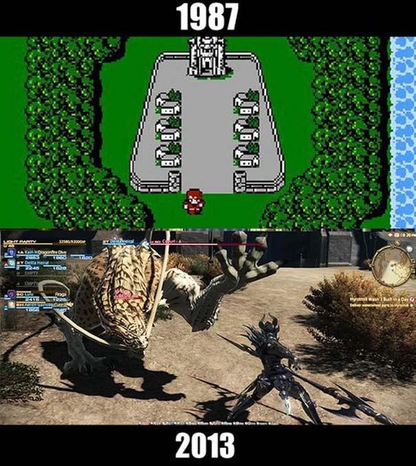 Δημοφιλή video games τότε και τώρα (8)
