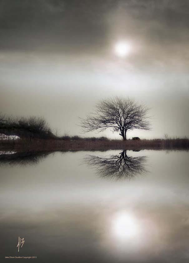 Εκπληκτικές φωτογραφίες αντανάκλασης στο νερό (14)