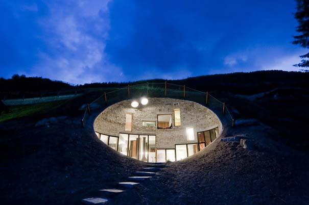 Εντυπωσιακά υπόγεια σπίτια (2)
