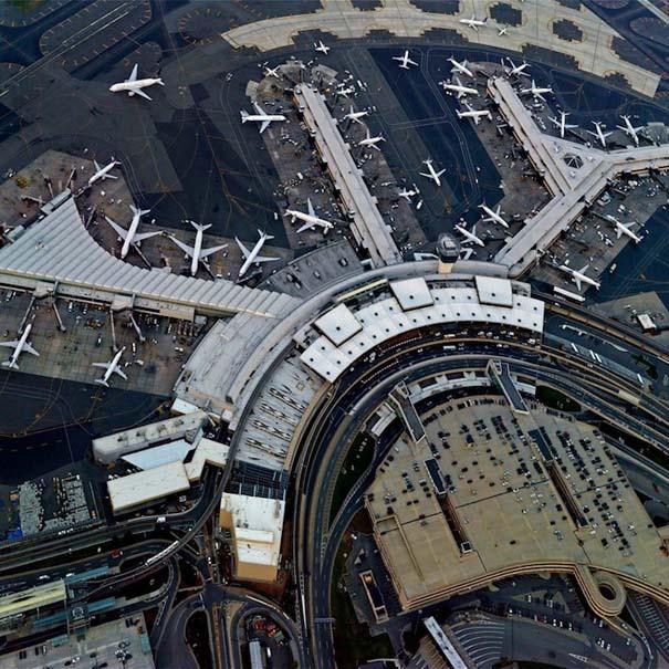 Εντυπωσιακές φωτογραφίες αεροδρομίων από ψηλά (2)