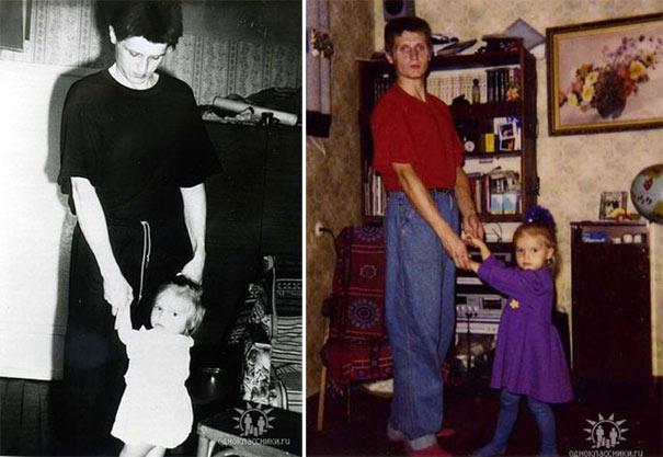 Η εξέλιξη πατέρα και κόρης μέσα σε 2 δεκαετίες (17)
