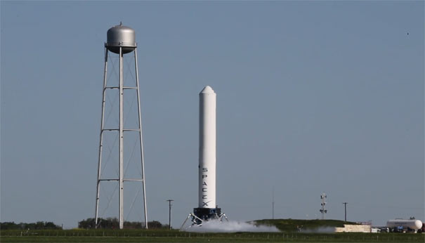 Έχετε δει ποτέ πύραυλο να προσγειώνεται;