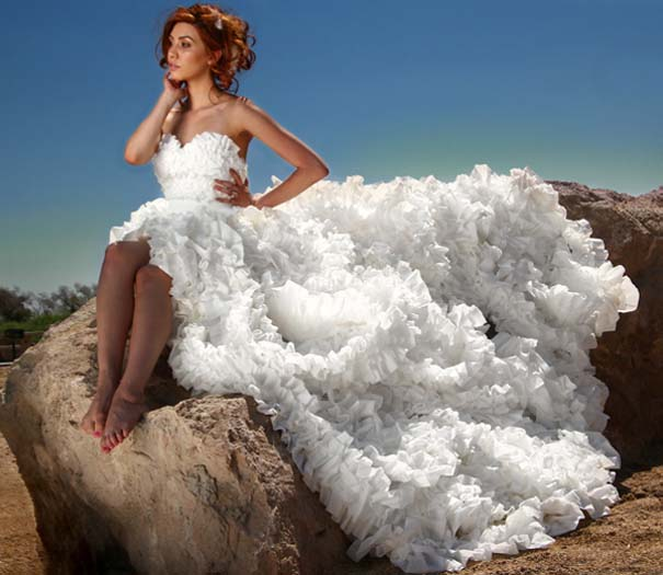 Τα πιο εξωφρενικά νυφικά φορέματα (7)