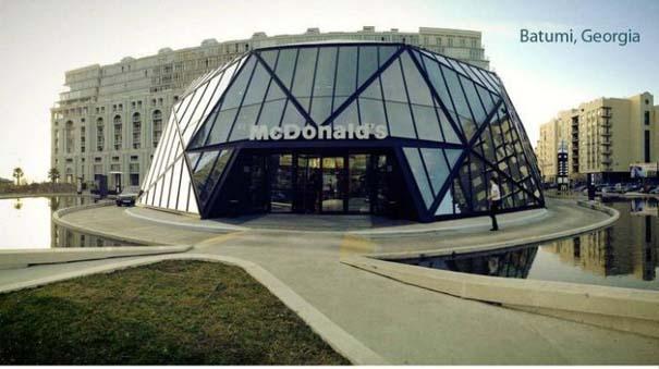 Φουτουριστικό κατάστημα McDonald's στη Γεωργία (1)