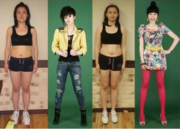 Απίστευτες φωτογραφίες Κορεατών πριν και μετά την πλαστική (7)