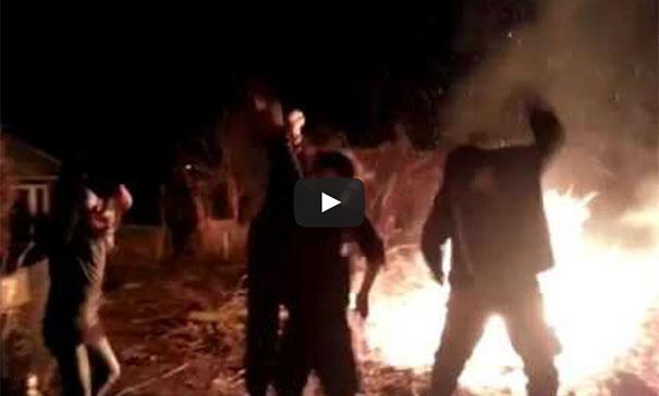 Πήγε να κάνει Harlem Shake και έπεσε στη φωτιά!