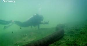 Κολυμπώντας με ένα Ανακόντα (Video)