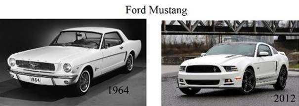 Μοντέλα αυτοκινήτων τότε και τώρα (2)