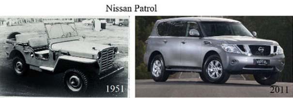 Μοντέλα αυτοκινήτων τότε και τώρα (11)