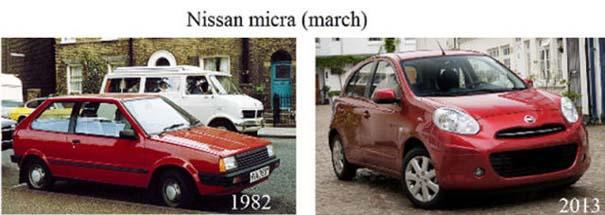 Μοντέλα αυτοκινήτων τότε και τώρα (14)